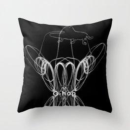 HOP_flow Throw Pillow