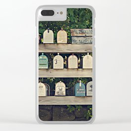 Mailboxes Clear iPhone Case