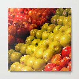 Apples to Apples Metal Print