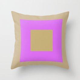 Fluorescent Semaphore Graphic Series Throw Pillow