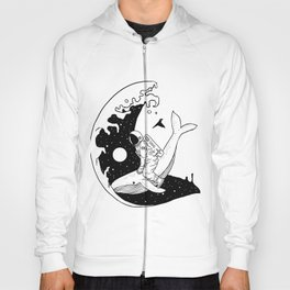 Space Wave (Take Me to the Place You've Dreamed Of) Hoody