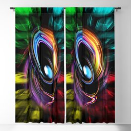 Abstract perfection 46 Blackout Curtain