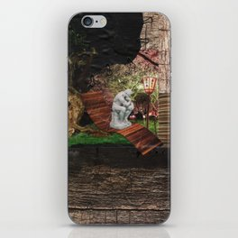 Think About It iPhone Skin