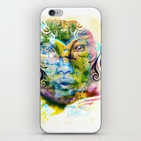 fairy tale iPhone & iPod Skins featuring Fairy Tale by Irmak Akcadogan