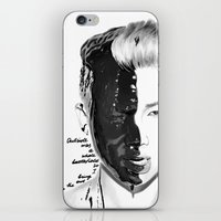 rap iPhone & iPod Skins featuring Rap Monster by Young Volcano