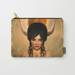 Taurus zodiac fantasy circle Carry-All Pouch