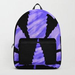 Weed : High Times Purple Blue Backpack