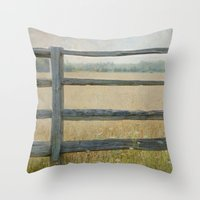 country Throw Pillows featuring Country by Pure Nature Photos