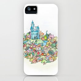 Florapis iPhone Case