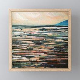 To the sea Framed Mini Art Print