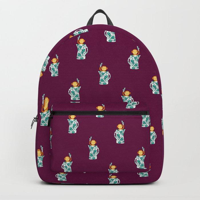 Dinnerware sets - Monkey in a jug Backpack
