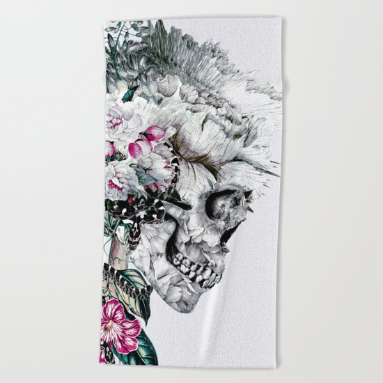 Momento Mori Rev V Beach Towel
