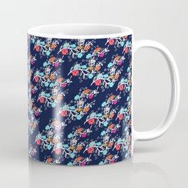 Happy Gypsy, Floral Pattern Coffee Mug