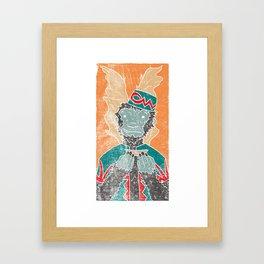 The Flying Chango Framed Art Print