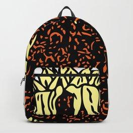 Wilting Sunflower Backpack