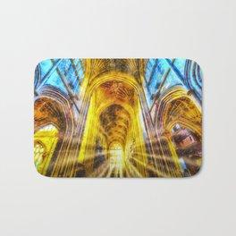 Bath Abbey Sun Rays Art Bath Mat