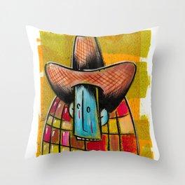 Sad Cowboy Throw Pillow