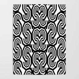 Alphabet Pattern S Poster