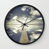outdoor Wall Clocks featuring Vanity by HappyMelvin