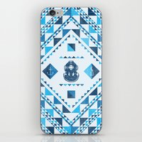 diver iPhone & iPod Skins featuring Diver by parallelish
