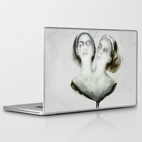 ahs Laptop & iPad Skins featuring Bette and Dot Tattler by beart24