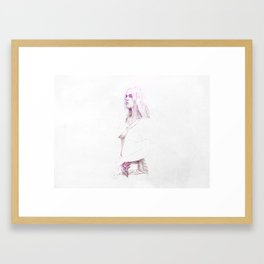 Live Fast, Die Young Framed Art Print