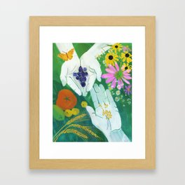 Midsummer magic Framed Art Print