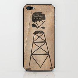 i fracking love you iPhone Skin
