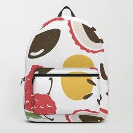 lychee pattern art print Backpack