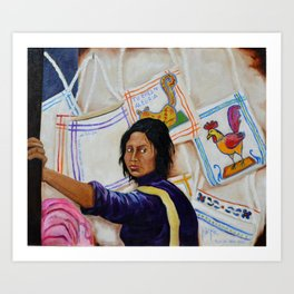 You are my happiness Tu Eres mi Alegria by Juan Manuel Rocha Kinkin Art Print