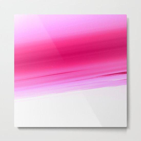 Pink Ombre Metal Print
