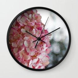 Hydrangea 2 Wall Clock