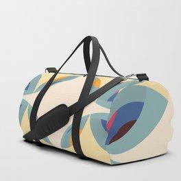 Retro Color Design Duffle Bag