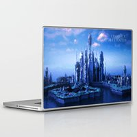 stargate Laptop & iPad Skins featuring The lost city by Samy