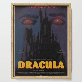 Dracula Movie Poster Serving Tray