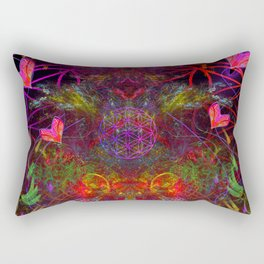 Love Exuded From The Crown Rectangular Pillow