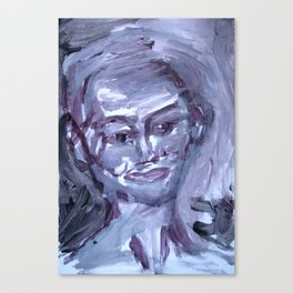 Face Of Her Own Canvas Print