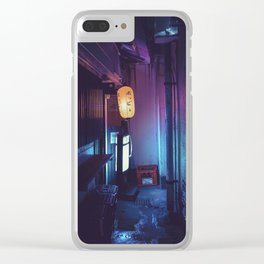 Tokyo Nights / Lonely Lantern / Liam Wong Clear iPhone Case