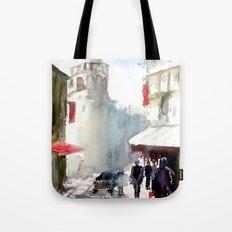 Galata Tower İstanbul Tote Bag