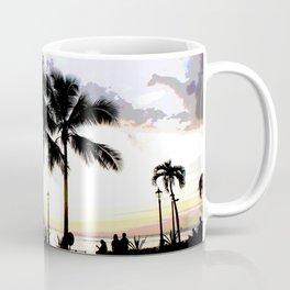 Three Palms in Paradise Coffee Mug