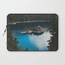 Fannette Island in Emerald Bay - Lake Tahoe, California Laptop Sleeve