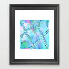 Re-Created  Glass Ceiling VII by Robert S. Lee Framed Art Print