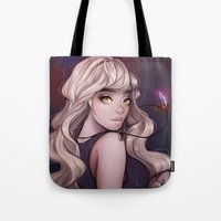 cyarin Tote Bags featuring Sirene by Cyarin
