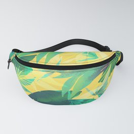 Tropical Leaves 2 Fanny Pack