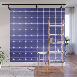 In charge / 3D render of solar panel texture Wall Mural