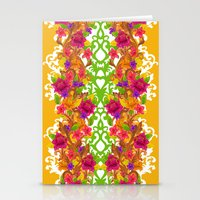 baroque Stationery Cards featuring Baroque by Aimee St Hill