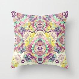 Opal with phantoms  Throw Pillow
