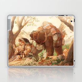 Dwarfen merchant Laptop & iPad Skin