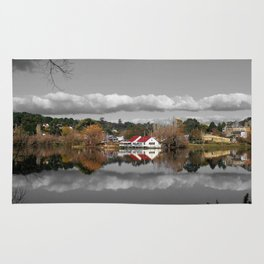Lake Daylesford Winter Reflections Rug