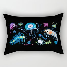 Zooplankton Rectangular Pillow